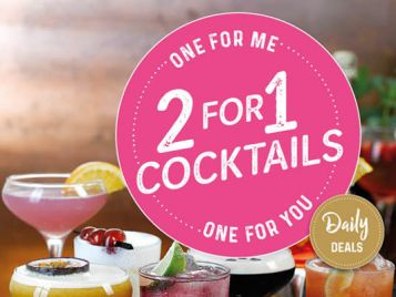2-for-1 Cocktails at Slug and Lettuce